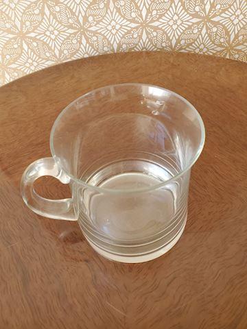 Glass mug  C-22