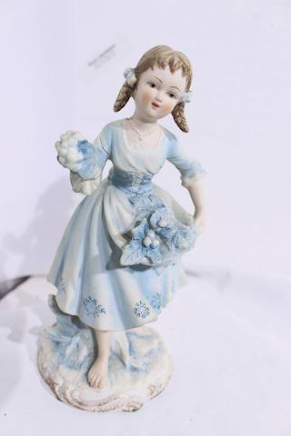 Bisque Figurine 7190 Andrea Monochromatic