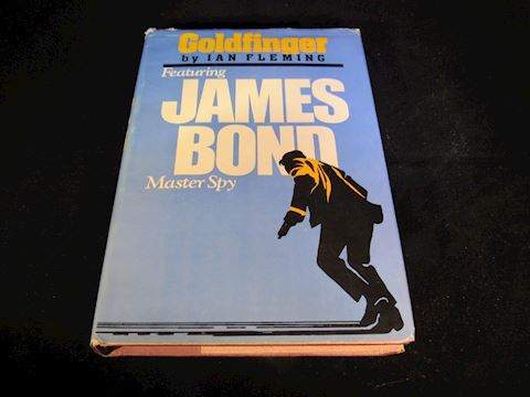 """Goldfinger"" 1st Book Club Edition, 1959 USA"