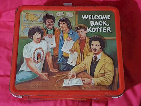 1977 Welcome Back Kotter lunchbox