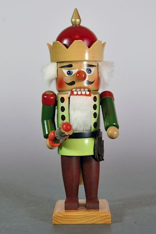"1980s Steinbach 11"" The Falcon King Nutcracker Exc"