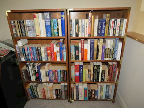Pair of Mastercraft Pine Book Shelves