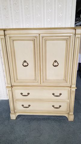 Bedroom dresser and chest set by Century