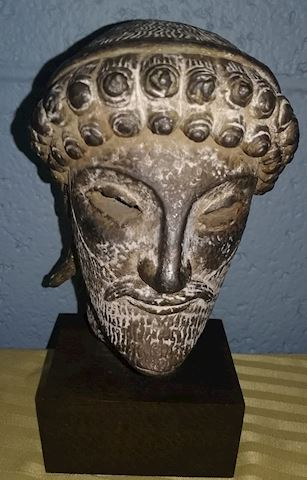 Small Greek God head