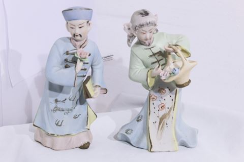 Asian Art Hand Painted Porcelain Japan
