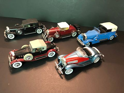 Collectible Diecast Signature Models Cars - Lot A