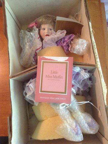 Little Miss Muffet Franklin Heirloom Doll NIB