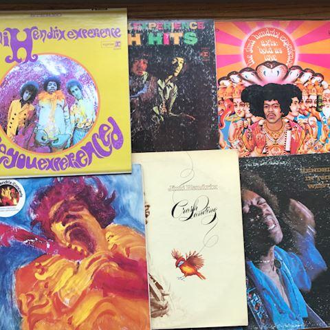 6 Jimi Hendrix