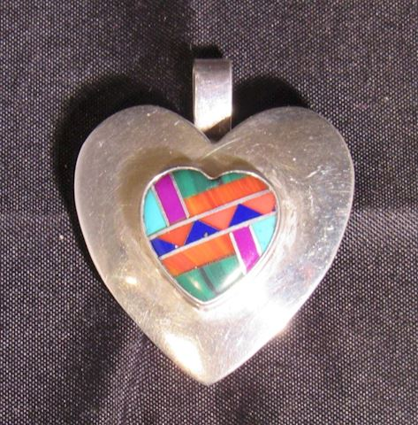 Sterling Silver Pendant or Brooch by VHC