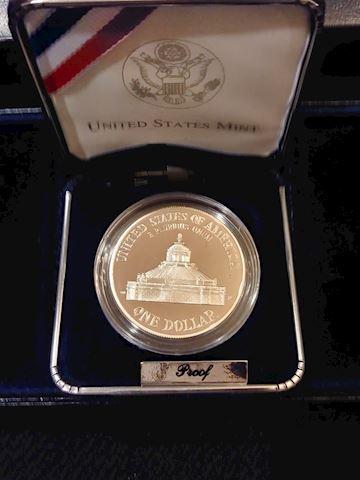 2000 Congress Silver Dollar