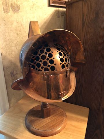 Gladiator Maximus Arena Spartacus Helmet-Copper
