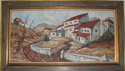 Robert Lebron Original Oil on Canvas