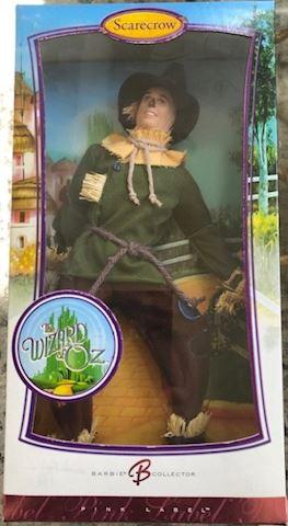 Scarecrow Wizard of Oz Barbie Doll