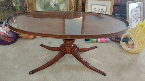 Antique Coffee Table Duncan Phyfe
