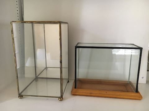 Two Display Boxes