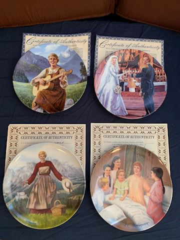 Sound of Music Collector's Plates By Edwin Knowles