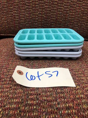 Silicone Ice Trays LOT 57