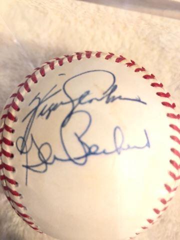 Awesome Autographed Baseball