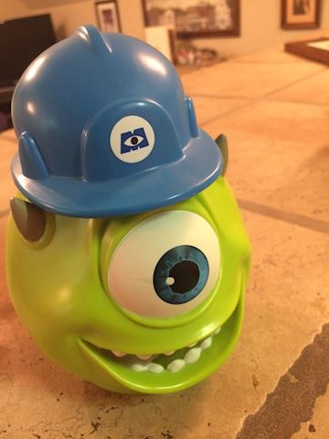 MIKE  WAZOWSKI MONSTERS DISNEY ON ICE CUP