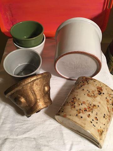 Lot of Ceramic Pots