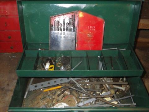 Green Park Toolbox and Contents