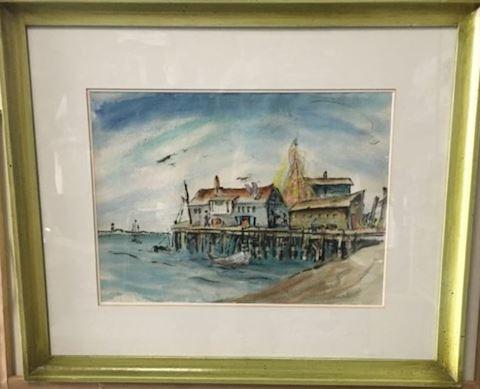 Betty Kathe (Kathryn Bernstein) Watercolor