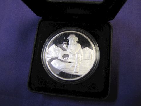 Coin - A Silver Collectors Coin
