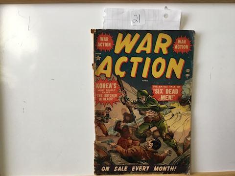 War action April