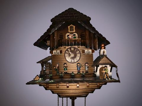 Original Black Forest Cuckcoo Clock