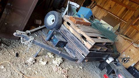 8 x 6 Dump Trailer, Towable Cart