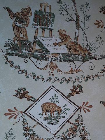 """FR  208  """"Pastoral Serenade"""" wallpaper"""