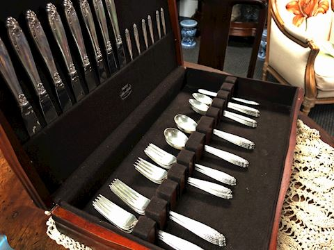 PRELUDE BY INTERNATIONAL STERLING SILVER FLATWARE