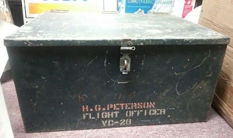 Military Metal Trunk/Case
