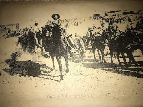 Pancho Villa old poster, 1877-1923