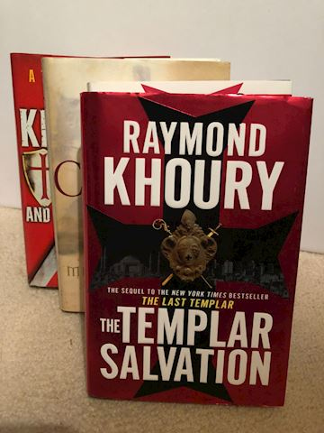 The Knights, Crusader & Templar Books - 5 Total