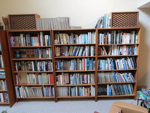 Mid Century Teak Bookshelf
