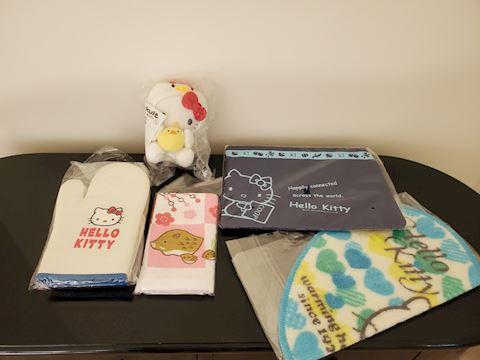 Lot of Hello Kitty items