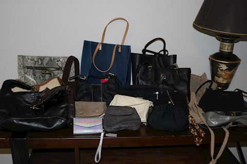 Lot of 19 Purses