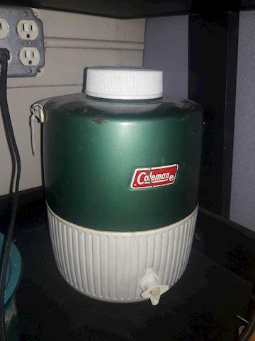 Vintage Coleman Cooler 2 large
