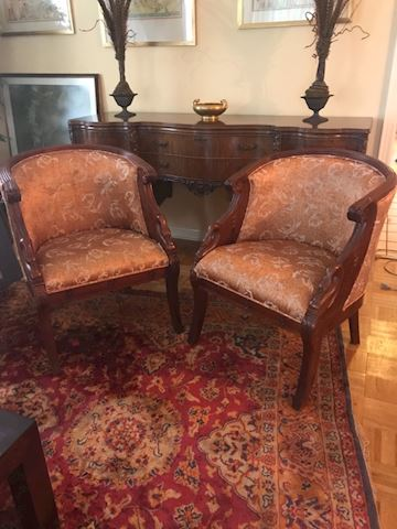 Pair of Swan Chairs