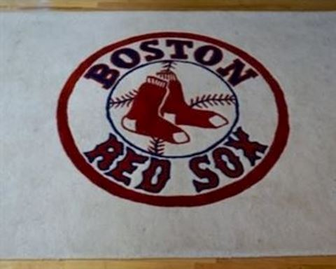 5x7 Red Sox Rug