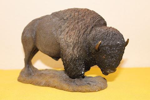 Sandra Brue Bison Statue