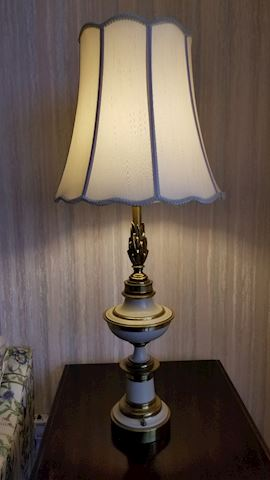 Pair of elegant table lamps
