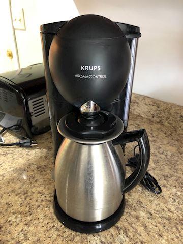 Krups Aroma Control 10 cup coffee pot