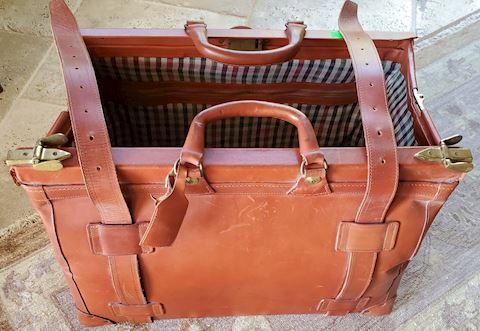 Harness Leather Pharmacy Bag