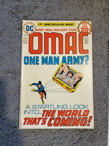 OMAC 1st issue