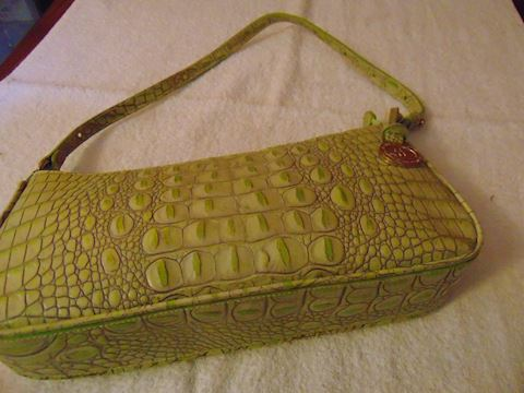 Brahmin Green Bag
