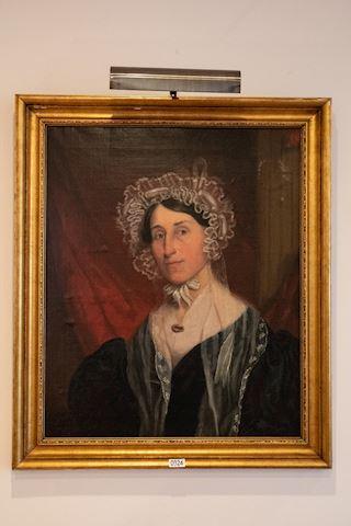 0024 Portrait of a woman 1860