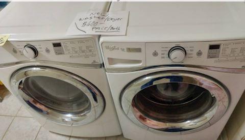 Whirlpool Duet Washer / Dryer