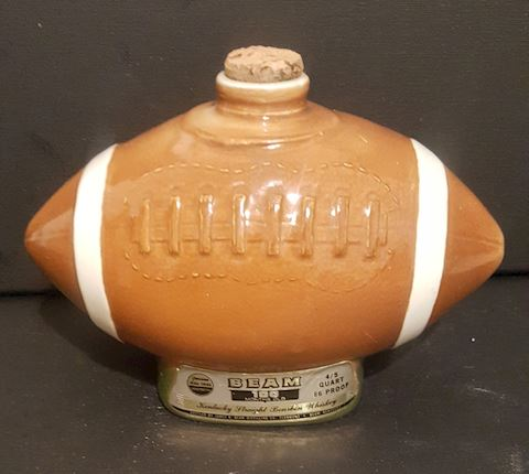 Jim Beam Football Whiskey Decanter